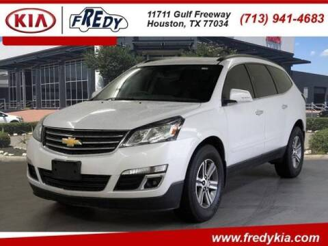 2017 Chevrolet Traverse for sale at FREDYS CARS FOR LESS in Houston TX