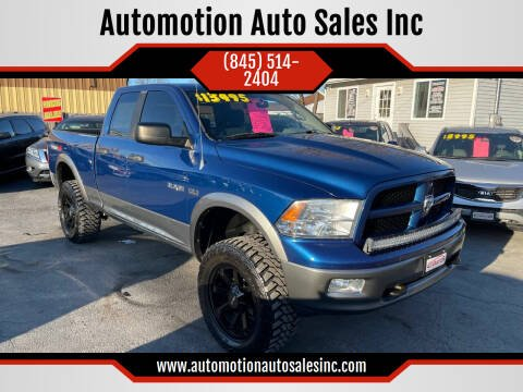 2009 Dodge Ram Pickup 1500 for sale at Automotion Auto Sales Inc in Kingston NY
