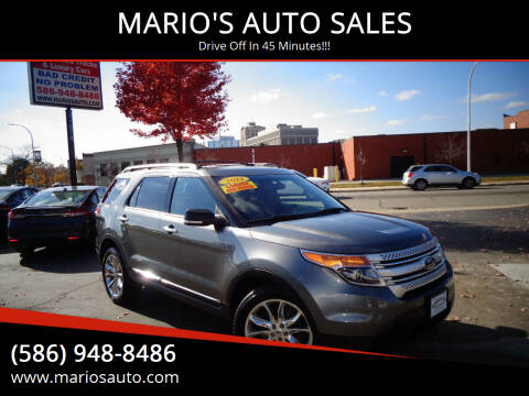 2014 Ford Explorer for sale at MARIO'S AUTO SALES in Mount Clemens MI