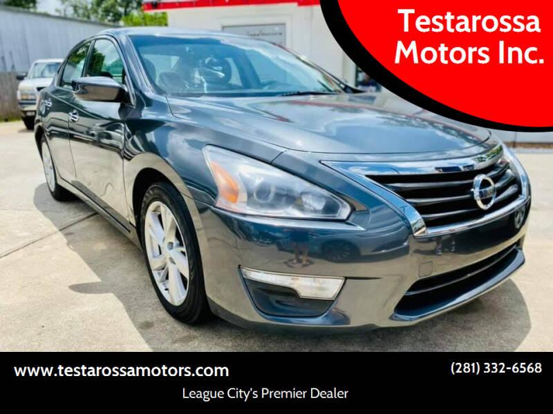 2013 Nissan Altima for sale at Testarossa Motors Inc. in League City TX