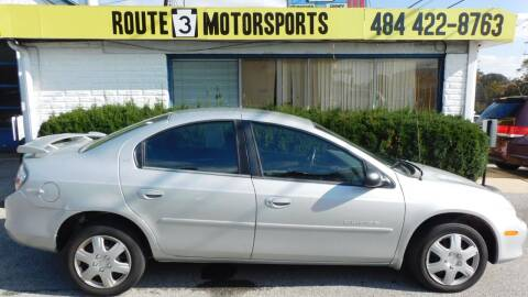 2001 Dodge Neon for sale at Route 3 Motors in Broomall PA