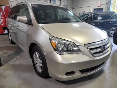 2006 Honda Odyssey for sale at AW Auto & Truck Wholesalers  Inc. in Hasbrouck Heights NJ