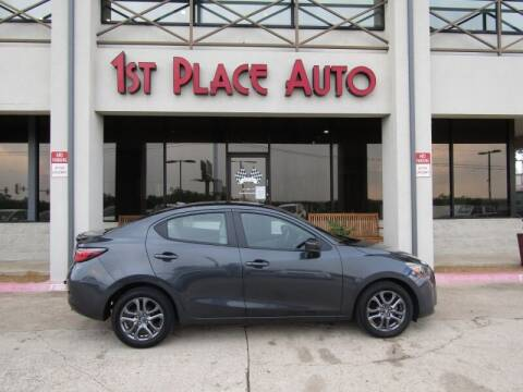 2019 Toyota Yaris for sale at First Place Auto Ctr Inc in Watauga TX