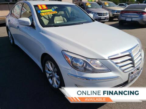 2013 Hyundai Genesis for sale at Super Cars Sales Inc #1 in Oakdale CA