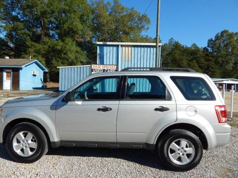 2009 Ford Escape for sale at DRM Special Used Cars in Starkville MS