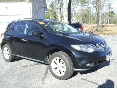 2011 Nissan Murano for sale at DUVAL AUTO SALES in Turner ME