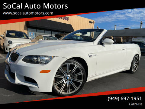 2009 BMW M3 for sale at SoCal Auto Motors in Costa Mesa CA