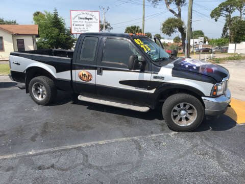 2002 Ford F-250 Super Duty for sale at Riviera Auto Sales South in Daytona Beach FL