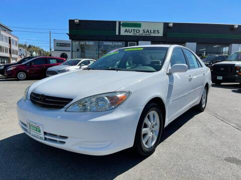 2002 Toyota Camry for sale at Wakefield Auto Sales of Main Street Inc. in Wakefield MA