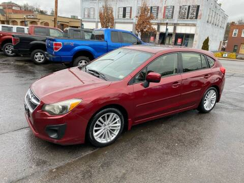 2012 Subaru Impreza for sale at East Main Rides in Marion VA