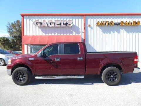 2006 Ford F-150 for sale at Gagel's Auto Sales in Gibsonton FL