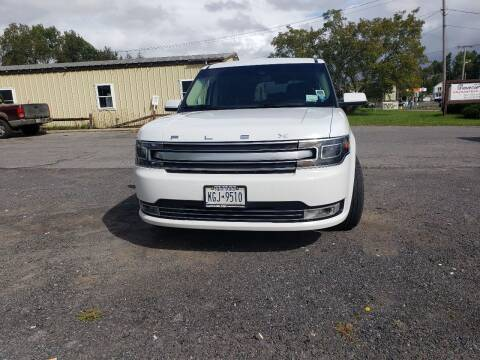 2019 Ford Flex for sale at GLOVECARS.COM LLC in Johnstown NY
