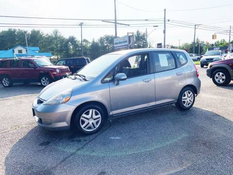 2008 Honda Fit for sale at New Wave Auto of Vineland in Vineland NJ