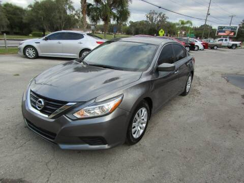 2017 Nissan Altima for sale at S & T Motors in Hernando FL