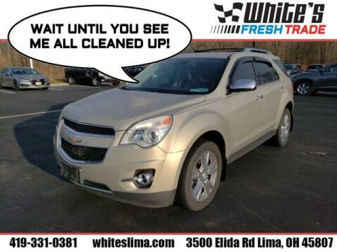 2012 Chevrolet Equinox for sale at White's Honda Toyota of Lima in Lima OH
