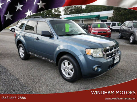 2012 Ford Escape for sale at Windham Motors in Florence SC