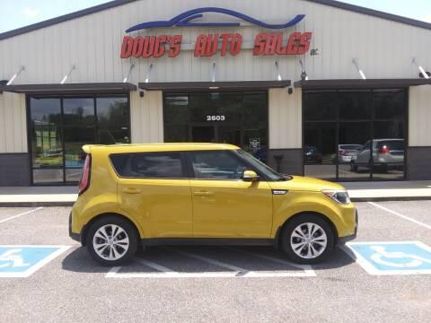 2014 Kia Soul for sale at DOUG'S AUTO SALES INC in Pleasant View TN