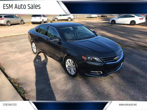 2019 Chevrolet Impala for sale at ESM Auto Sales in Elkhart IN