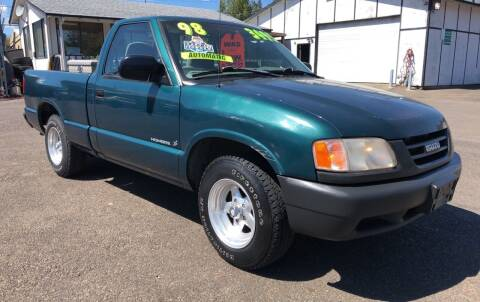 1998 Isuzu Hombre for sale at Freeborn Motors in Lafayette, OR