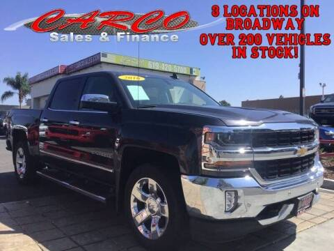2016 Chevrolet Silverado 1500 for sale at CARCO SALES & FINANCE in Chula Vista CA