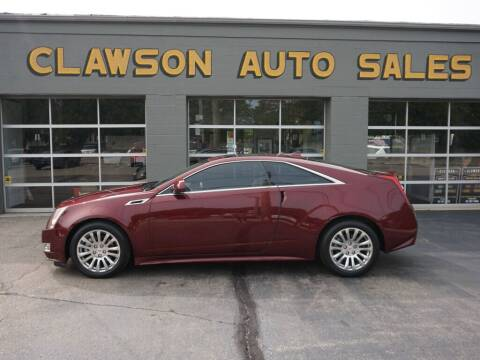 2014 Cadillac CTS for sale at Clawson Auto Sales in Clawson MI