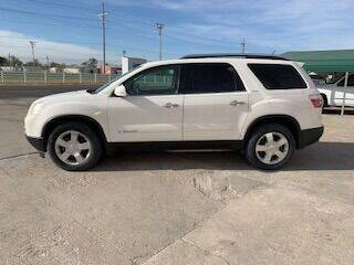 2008 GMC Acadia for sale at J & S Auto in Downs KS