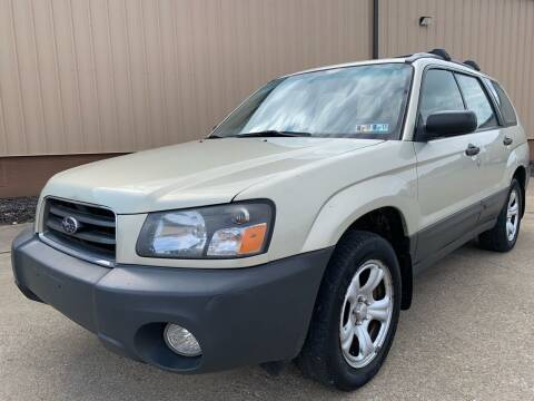 2005 Subaru Forester for sale at Prime Auto Sales in Uniontown OH