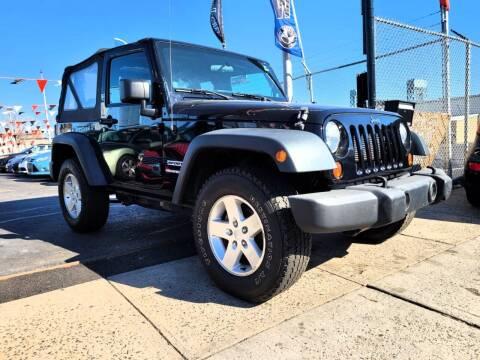 2013 Jeep Wrangler for sale at GW MOTORS in Newark NJ