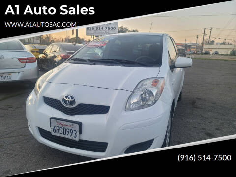 2011 Toyota Yaris for sale at A1 Auto Sales in Sacramento CA