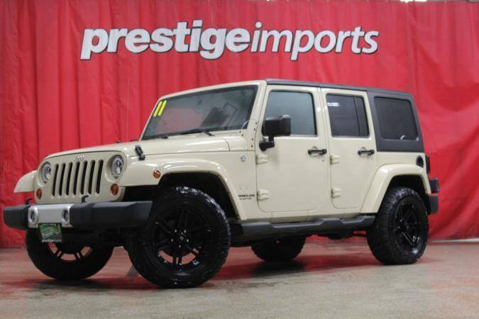 2011 Jeep Wrangler Unlimited for sale at Prestige Imports in St Charles IL