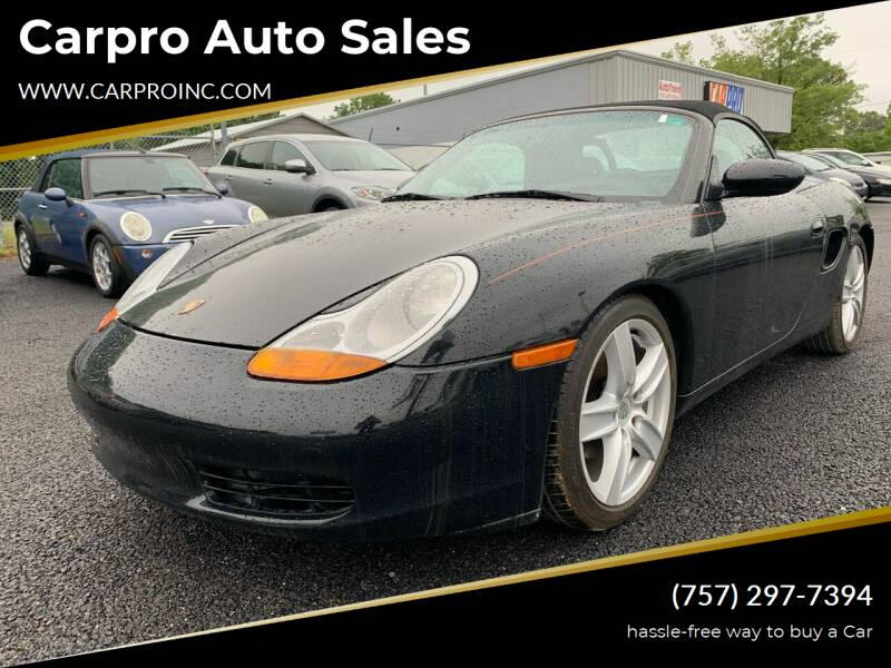 1999 Porsche Boxster for sale at Carpro Auto Sales in Chesapeake VA