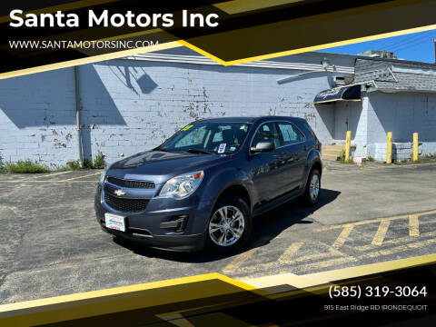 2013 Chevrolet Equinox for sale at Santa Motors Inc in Rochester NY