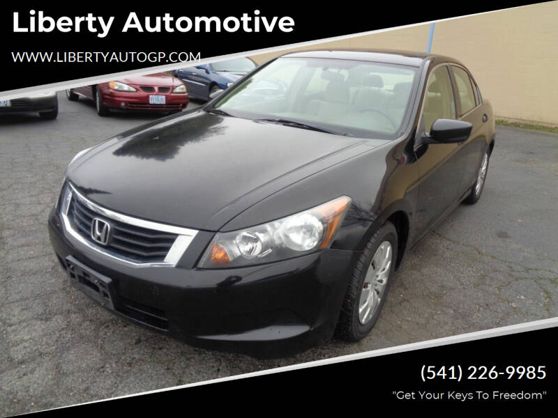 2009 Honda Accord for sale at Liberty Automotive in Grants Pass OR