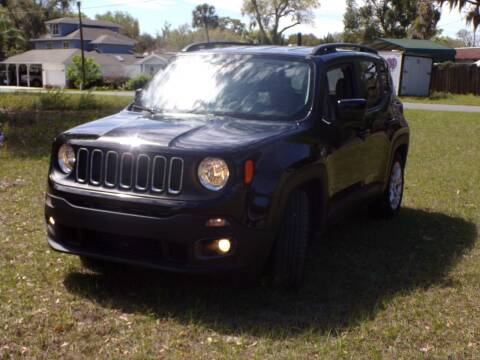 2015 Jeep Renegade for sale at LANCASTER'S AUTO SALES INC in Fruitland Park FL