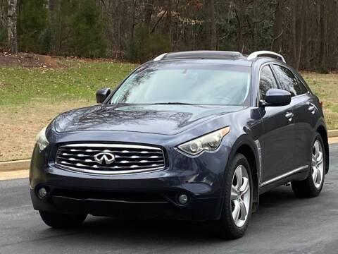 2010 Infiniti FX35 for sale at Top Notch Luxury Motors in Decatur GA