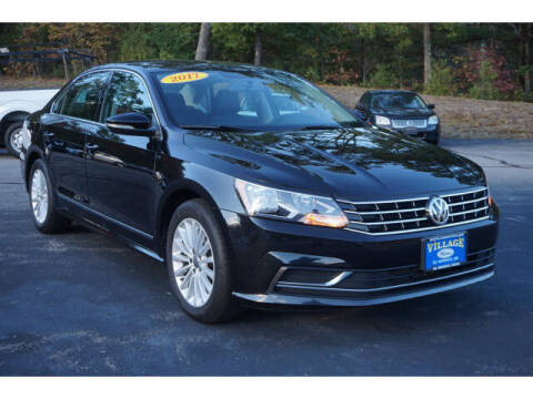 2017 Volkswagen Passat for sale at VILLAGE MOTORS in South Berwick ME