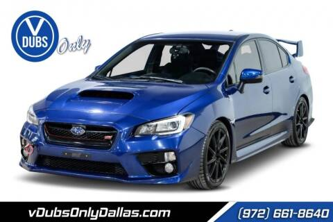2015 Subaru WRX for sale at VDUBS ONLY in Dallas TX