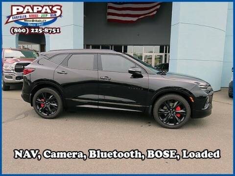 2019 Chevrolet Blazer for sale at Papas Chrysler Dodge Jeep Ram in New Britain CT