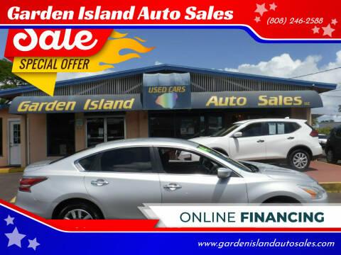 2014 Nissan Altima for sale at Garden Island Auto Sales in Lihue HI