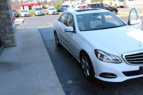 2016 Mercedes-Benz E-Class for sale at City to City Auto Sales - Raceway in Richmond VA