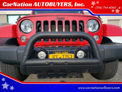 2015 Jeep Wrangler Unlimited for sale at CarNation AUTOBUYERS, Inc. in Rockville Centre NY