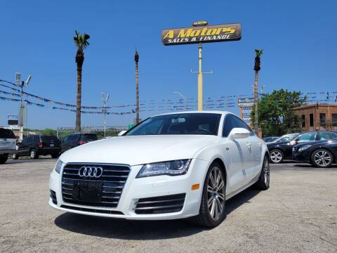 2012 Audi A7 for sale at A MOTORS SALES AND FINANCE in San Antonio TX