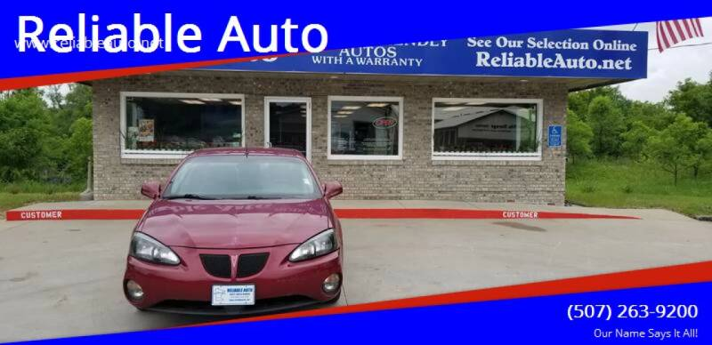 2005 Pontiac Grand Prix for sale at Reliable Auto in Cannon Falls MN