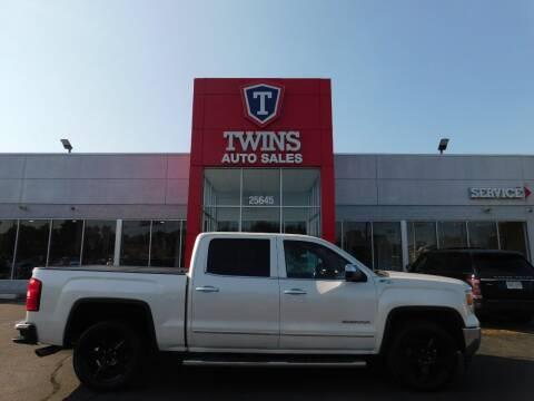 2014 GMC Sierra 1500 for sale at Twins Auto Sales Inc Redford 1 in Redford MI