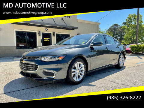 2016 Chevrolet Malibu for sale at MD AUTOMOTIVE LLC in Slidell LA