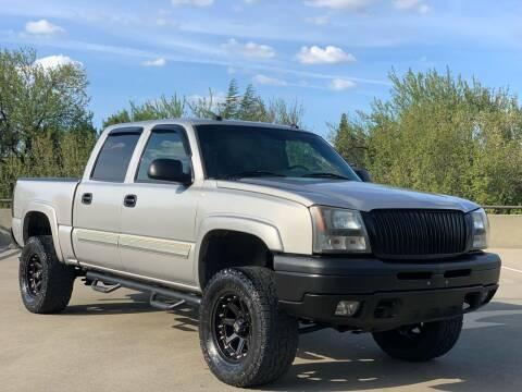 2004 Chevrolet Silverado 1500 for sale at AutoAffari LLC in Sacramento CA