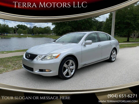 2007 Lexus GS 350 for sale at Terra Motors LLC in Jacksonville FL