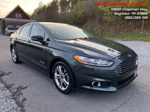 2015 Ford Fusion Hybrid for sale at Armenia Motors in Seymour TN