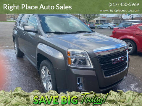 2011 GMC Terrain for sale at Right Place Auto Sales in Indianapolis IN