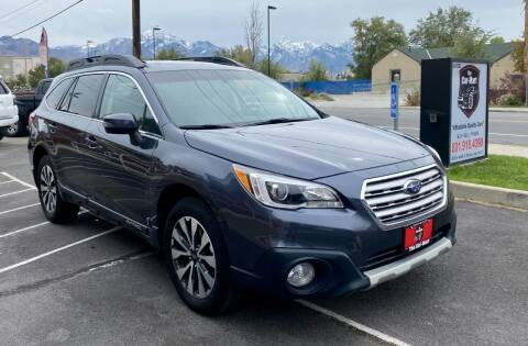 2015 Subaru Outback for sale at The Car-Mart in Murray UT
